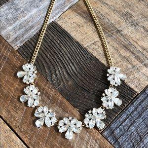 J. Crew Jewelry - J Crew crystal statement necklace